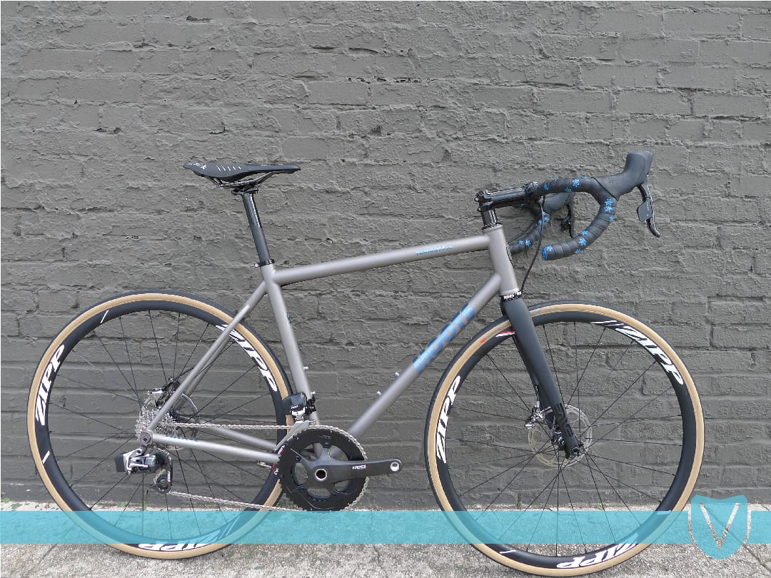 Victory Bicycle Studio » Moots VaMoots DR- Anodized Blue